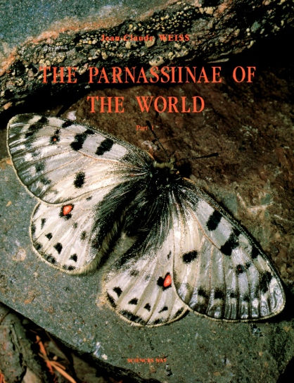 THE PARNASSIINAE OF THE WORLD Part1-3世界のウスバアゲハ3冊|蝶・自然科学