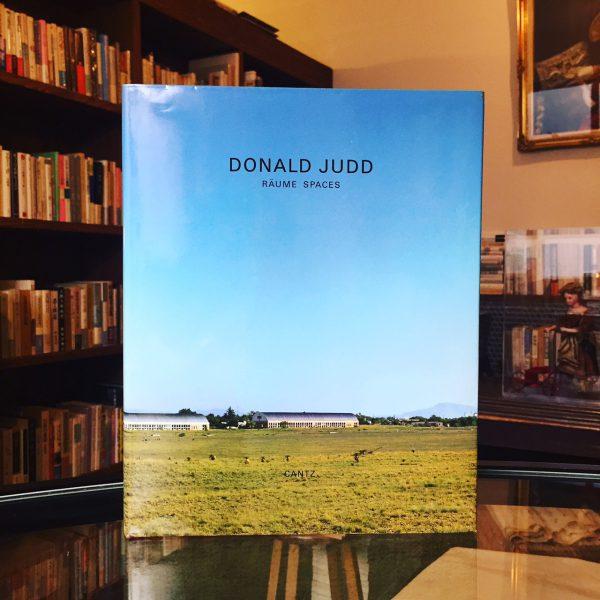 ドナルド・ジャッド DONALD JUDD RAUME SPACES | 美術・写真集