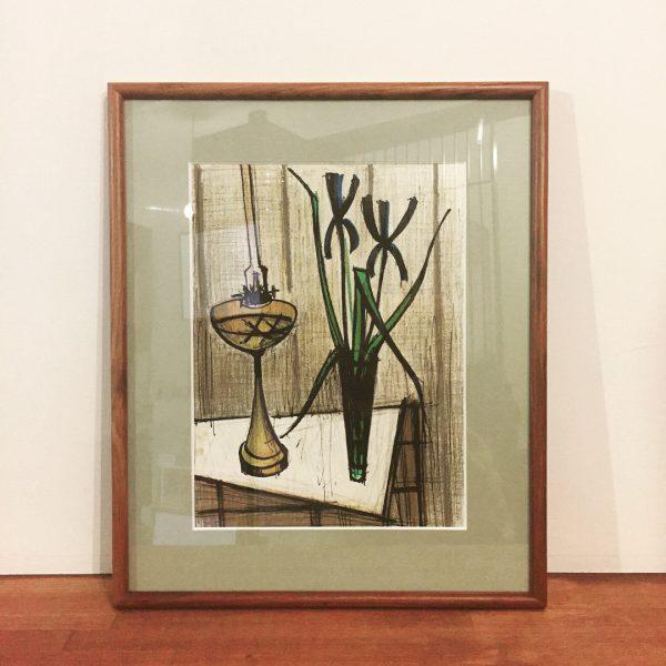 ベルナール・ビュッフェ リトグラフ | NATURE MORTE AUX IRIS | 美術・版画
