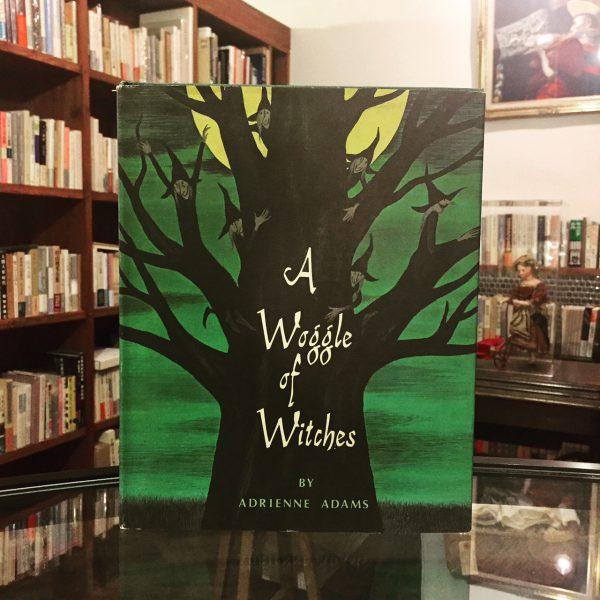 エイドリアン・アダムス A Woggle of Witches Adrienne Adams | 絵本