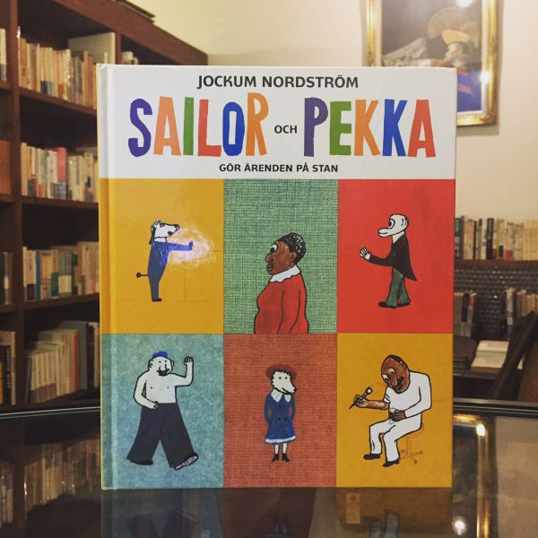 スウェーデンの絵本 | ヨーケム・ノルドストリョーム SAILOR OCH PEKKA | JOCKUM NORDSTROM | 絵本