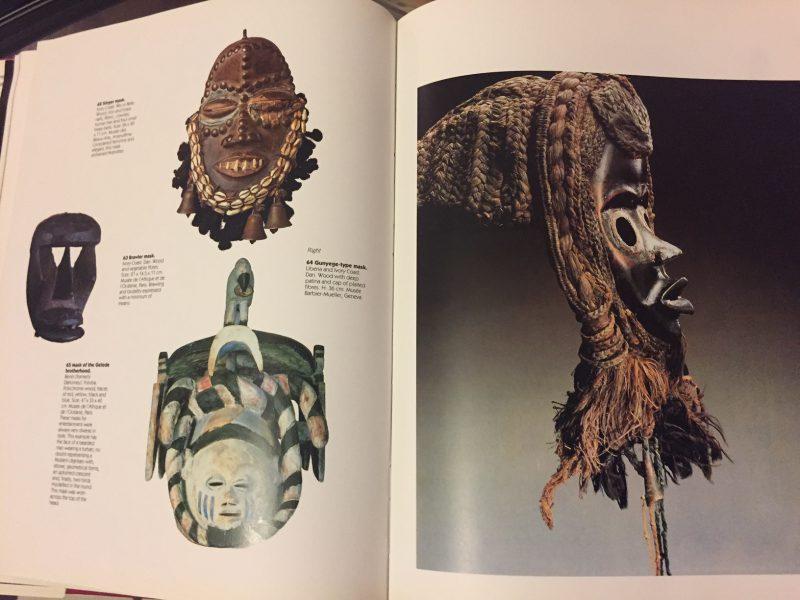 ブラックアフリカ BLACK AFRICA MASK SCULPTURE JEWELRY | 工芸