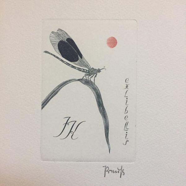 1992年 第24回国際蔵書票会議 札幌開催記念蔵書票 | 蔵書票・EXLIBRIS