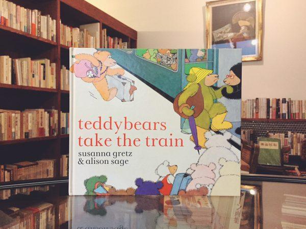 テディベアの絵本 スザンナ・グレッツ SUSANNA GRETZ:teddybears take the train | 絵本
