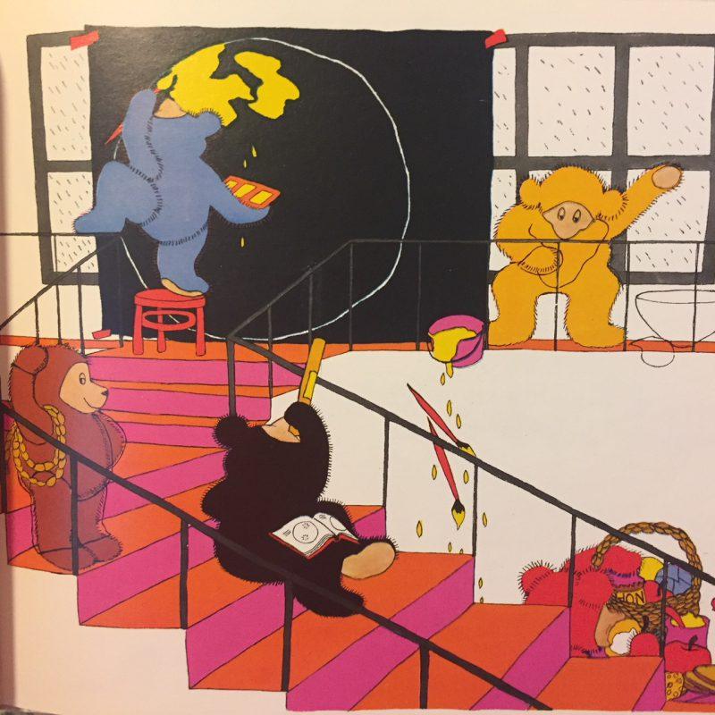 テディベアの絵本 スザンナ・グレッツ SUSANNA GRETZ:the bears who stayed indoors| 絵本