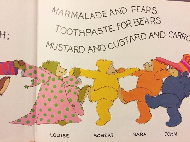 テディベアの絵本 スザンナ・グレッツ SUSANNA GRETZ:teddybears go shopping| 絵本