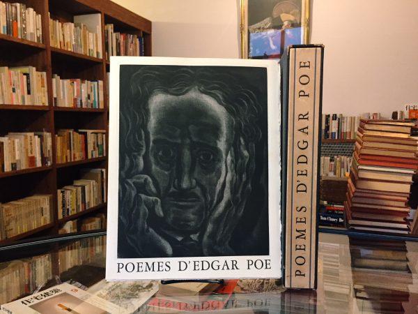 エドガー・アラン・ポー POEMES D'EDGAR POE | 文学・詩集・版画・特装本