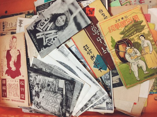 戦前の古い絵葉書・映画ニュースなどを出張買取