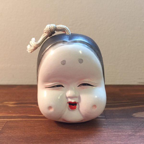 土鈴 天狗とお多福(小) | 京都清水人形 | 民芸・郷土人形