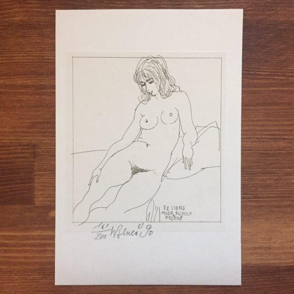 チェコの蔵書票 カレル・ベネシュ Karel Benesの作品-2 | 蔵書票・EXLIBRIS