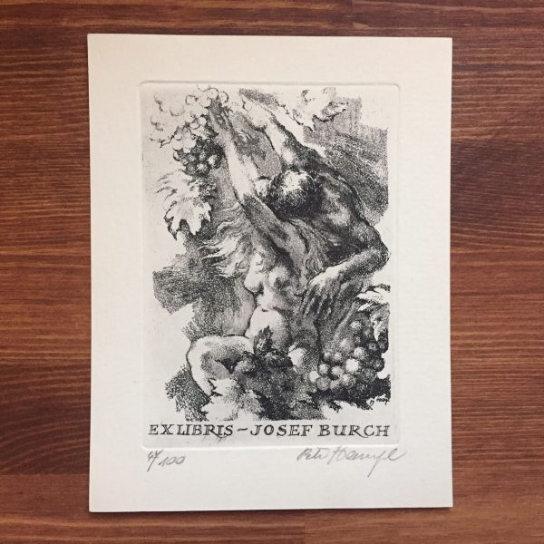 チェコの蔵書票 ペトル・ハンプル Petr Hamplの作品-2 | 蔵書票・EXLIBRIS