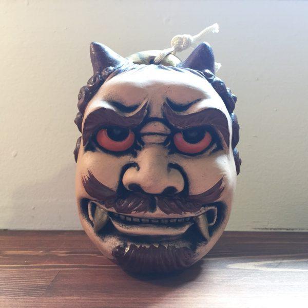 土鈴 鬼とお多福 | 京都清水人形 | 民芸・郷土人形