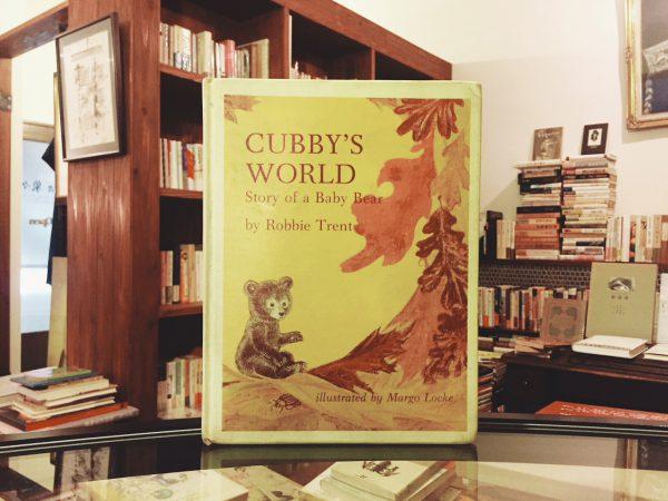 マーゴ・ロックのビンテージ絵本 Margo Locke:CUBBY'S WORLD Story of a Baby Bear | 絵本