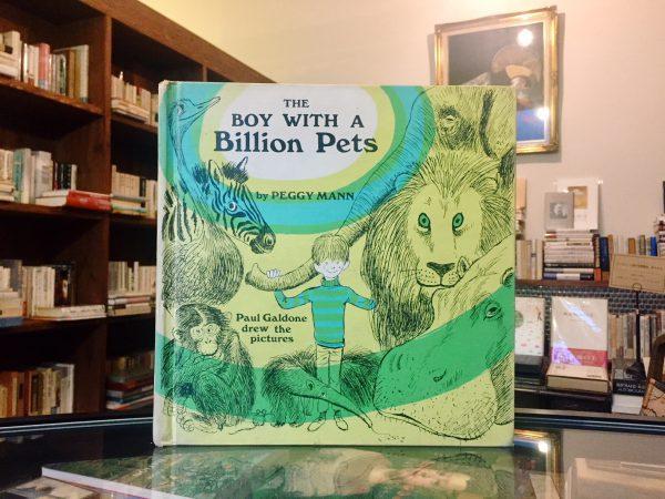 ポール・ガルドンのビンテージ絵本 Paul Galdone:THE BOY WITH A BILLION PETS | 絵本