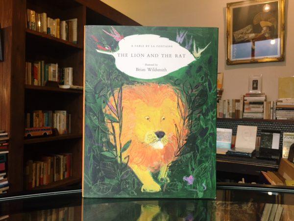 ブライアン・ワイルドスミス BRIAN WILDSMITH | THE LION AND THE RAT| 絵本