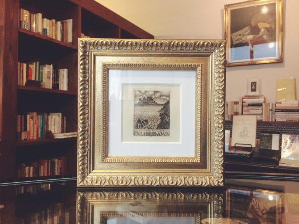 アンティーク蔵書票 | スイスの画家 ルドルフ・デュルワン Rudolf Dürrwang | 蔵書票・EXLIBRIS