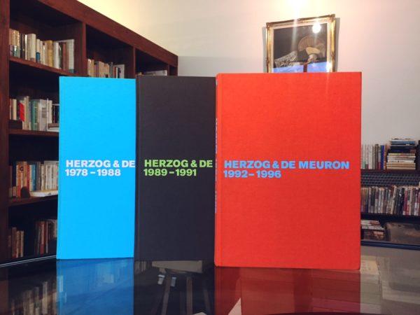 ヘルツォーク&ド・ムーロン全作品集vol.1-3 HERZOG & DE MEURON The Complete Works vol.1-3 | 建築書
