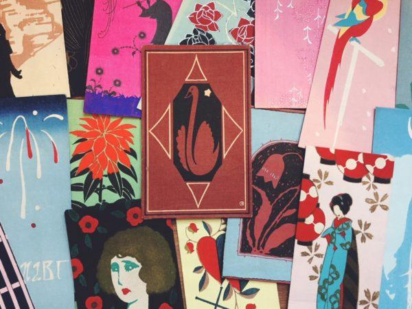 兵庫県芦屋市にて、京都さくら井屋などの木版画絵封筒を出張買取