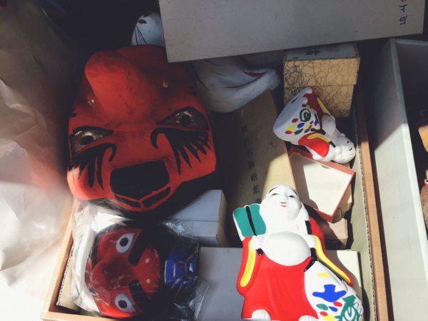 大阪府豊中市にて郷土玩具を出張買取