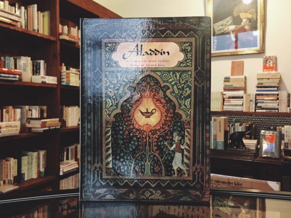 エロール・ル・カイン Errol Le Cain: Aladdin and the Wonderful Lamp(アラジンと魔法のランプ) | 絵本