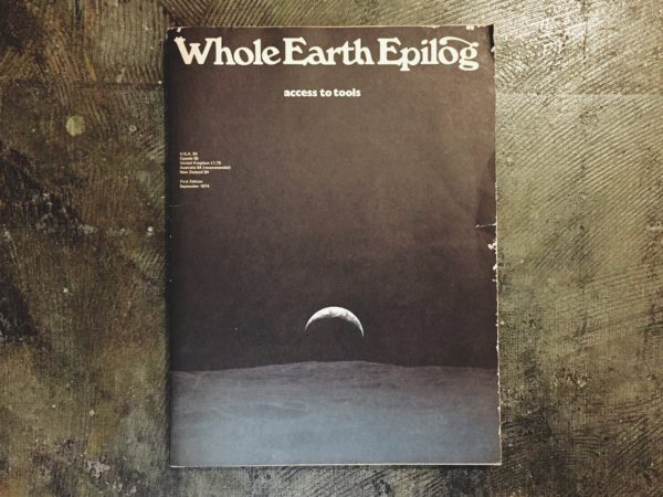 Whole Earth Epilog -access to tools | ホール・アース・エピローグ| 雑誌・カタログ