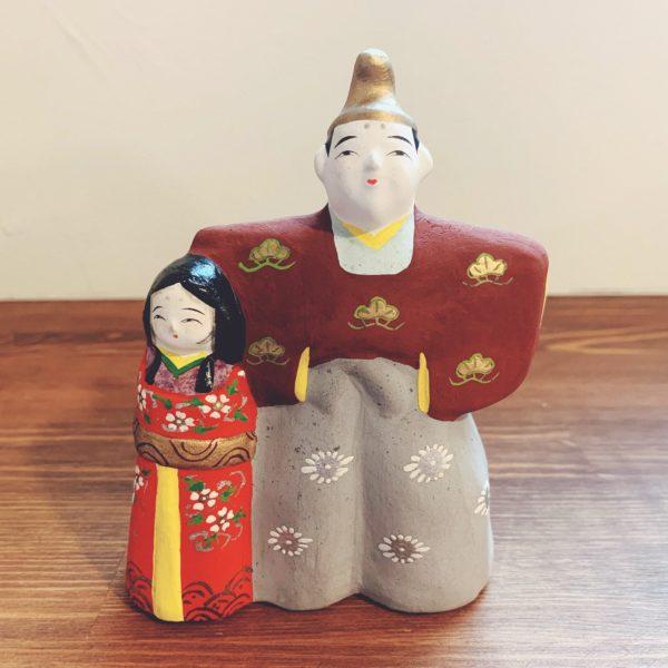 土人形 立ち雛・野田末吉 | 名古屋土人形 | 民芸・郷土人形