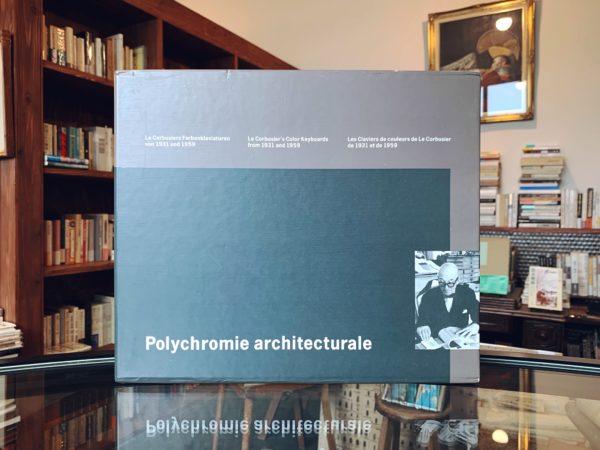 ル・コルビュジエ Le Corbusier: Polychromie architecturale   建築書・色見本帳