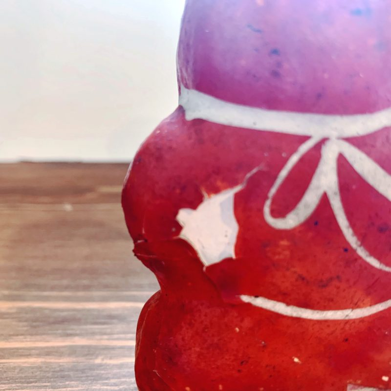 戦前の鴻巣の練り物 熊乗り金太郎 | 埼玉・鴻巣人形・赤物 | 民芸・郷土人形