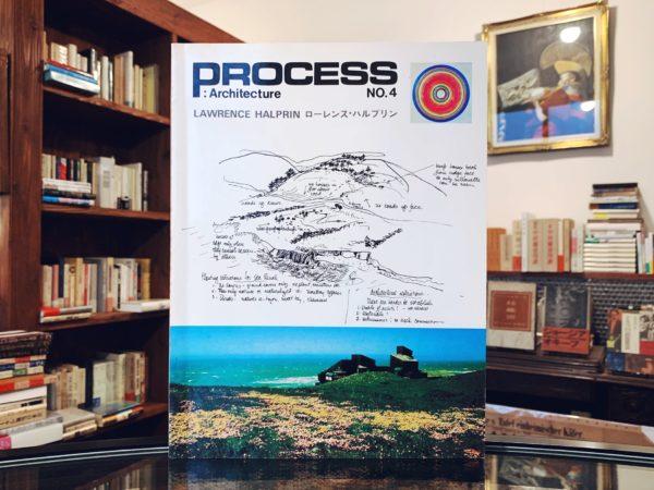 ローレンス・ハルプリン Process: Architecture No.4 プロセス・アーキテクチュア | 建築書・建築雑誌