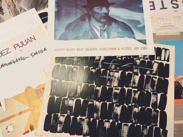 ヨーゼフ・ボイスに李禹煥、ナムジュン・パイク…e.t.c. 現代美術のポスターを出張買取