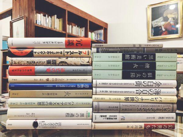 フランス文学などの外国文学を店頭にて持ち込み買取