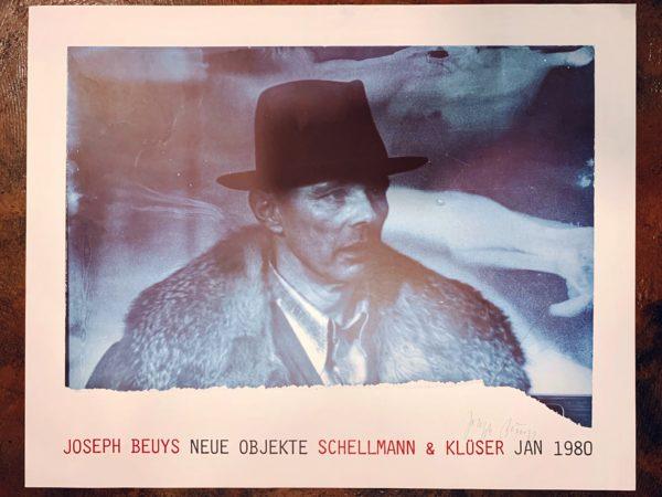 ヨーゼフ・ボイス Joseph Beuys サイン入りポスターが入荷