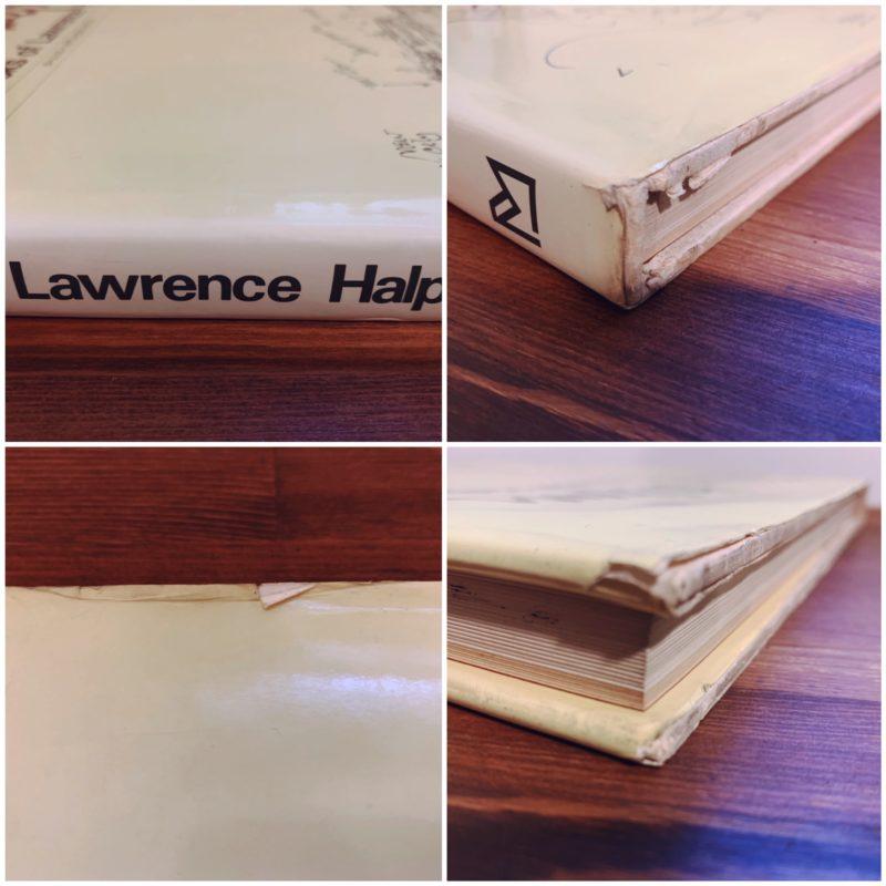 ローレンス・ハルプリンのスケッチブック Sketchbooks of Lawrence Halprin | ランドスープアーキテクチュア・建築書