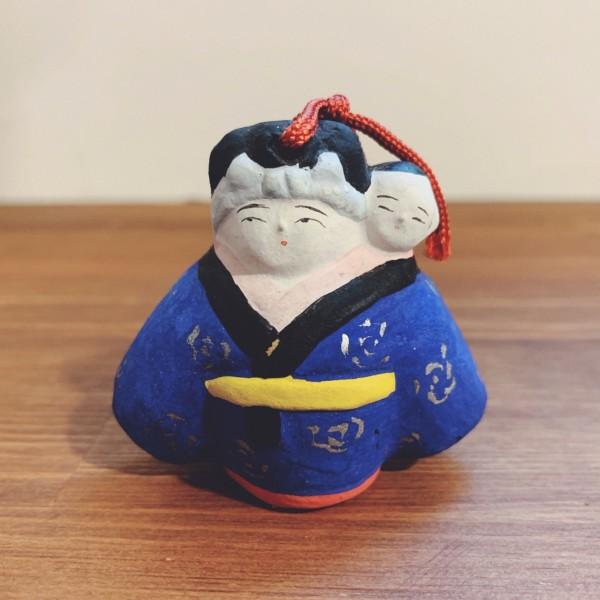 土鈴 子守り鈴 2・野田末吉 | 名古屋土人形 | 民芸・郷土人形