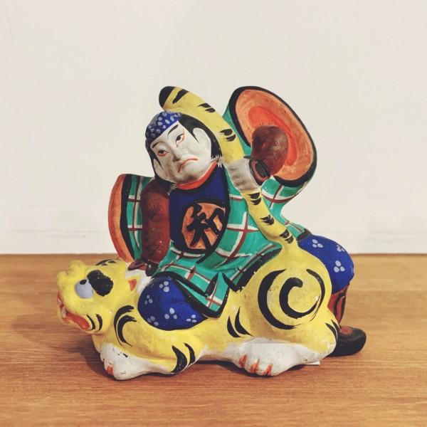 土人形 和藤内・芳賀作 | 宮城県・堤人形 | 民芸・郷土人形