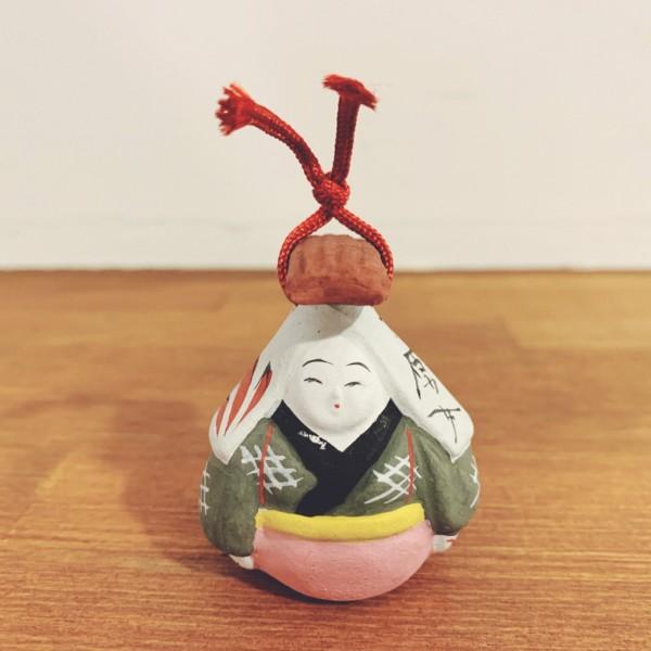 土鈴 大原女・野田末吉 | 名古屋土人形 | 民芸・郷土人形