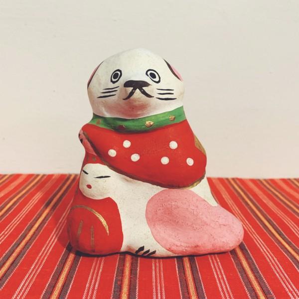 練り物 だるま抱き犬・高松嫁入人形 | 香川県・大崎文仙堂 | 民芸・郷土人形