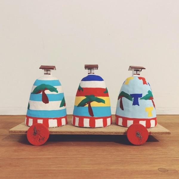 姫路張子・射楯兵主神社 三つ山 | 兵庫県・三代目 松尾好夫 | 民芸・郷土玩具
