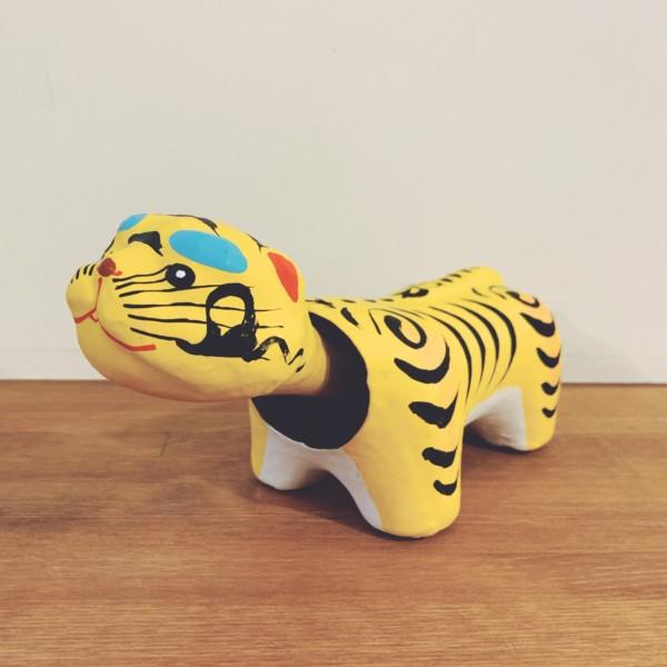 中島めんやの首振り張子 加賀魔除け虎 | 石川県金沢市 | 民芸・郷土玩具