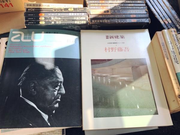 兵庫県川西市にて、建築書・建築雑誌の出張買取