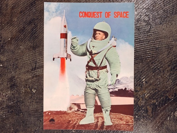宇宙征服 CONQUEST OF SPACE フォーレン・ピクチャー・ニュース | 1955年日本公開当時もの | 映画パンフレット・映画資料