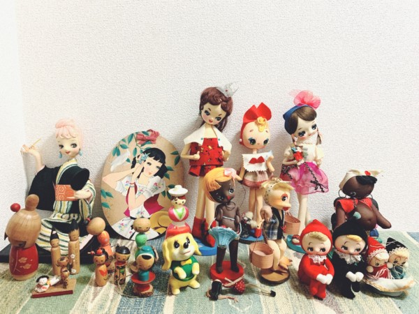 大阪府八尾市にて、昭和レトロのポーズ人形・くろんぼ人形など出張買取