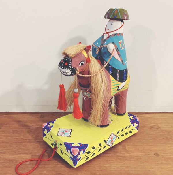 琉球郷土玩具 チンチン馬・古倉保文 | 沖縄・琉球張子 | 民芸・郷土人形