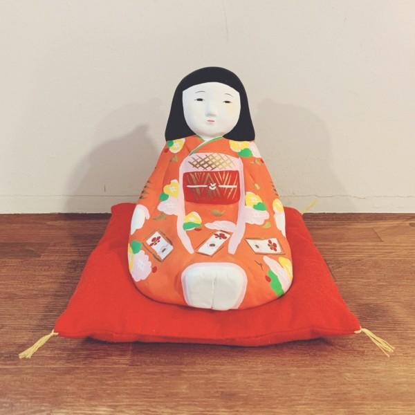 土鈴 少女 | 日出人形 | 民芸・郷土人形