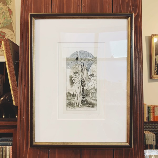 山本六三銅版画「エロス・タナトス」 | 美術・版画作品