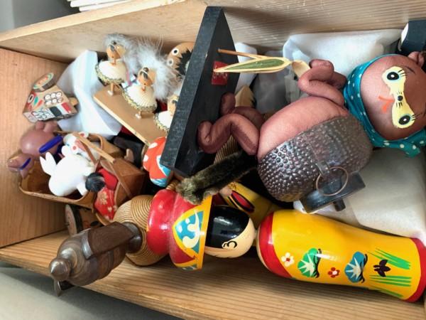 大阪市福島区にて、創作こけし・郷土玩具・昭和レトロ雑貨など出張買取
