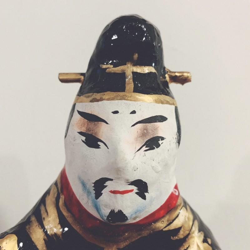 牛のおもちゃ 宇土張子『牛乗り天神』 | 熊本県宇土市 | 郷土玩具・張子人形