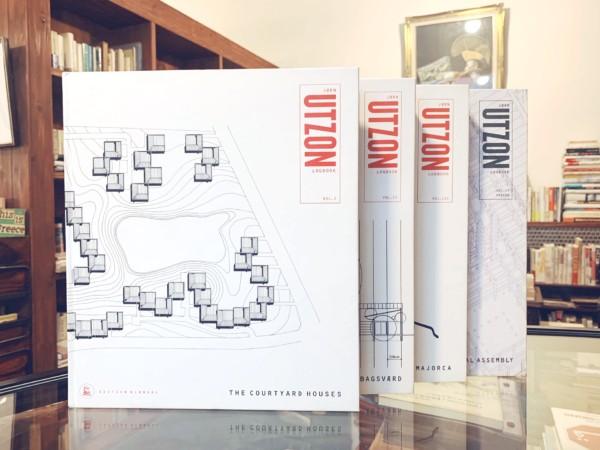 ヨーン・ウッツォン JORN UTZON LOGBOOK vol.1-4 4冊セット | 建築書・作品集