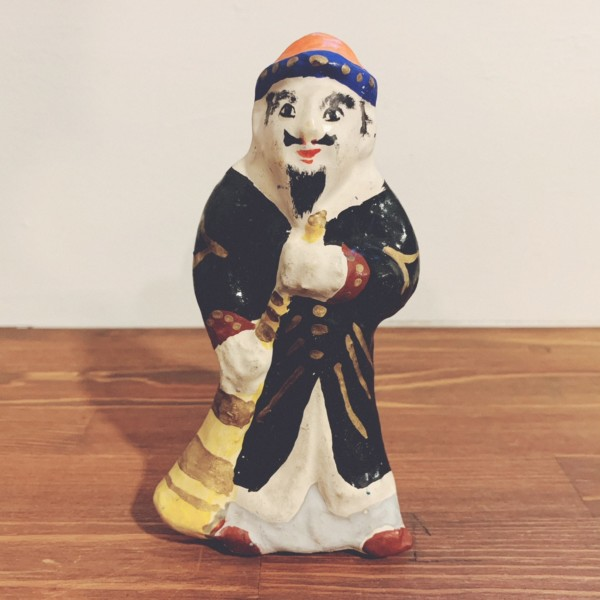 常石張子『ラッパ男』 | 宮本峯一作・広島県福山市 | 郷土玩具・張子人形