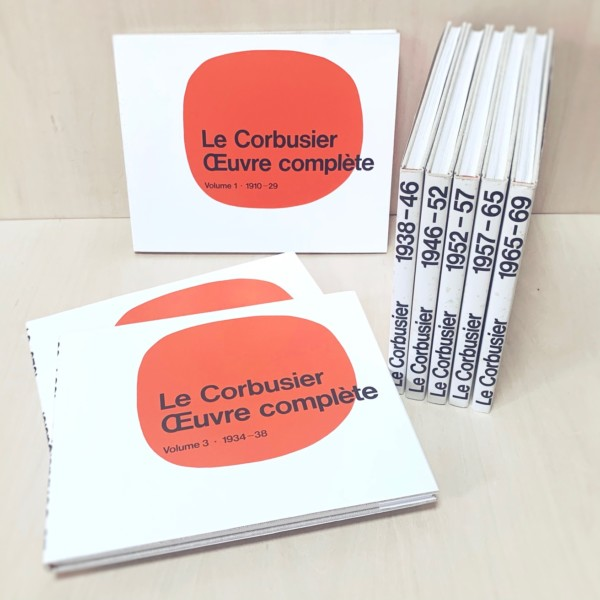 ル・コルビュジエ全作品集 全8巻セット Le Corbusier: OEuvre complete en 8 volumes | 建築書・作品集
